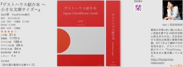 無料で『ゲストハウス紹介本 〜小さな文庫サイズ〜』を読んだみた。