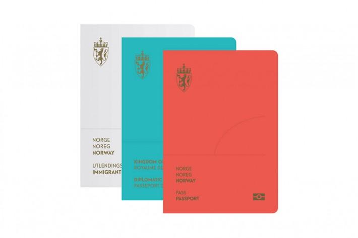ノルウェーの新しいパスポートのデザインがオシャレすぎる件