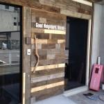 廃材を利用したドア